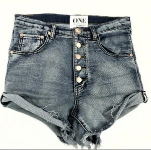 One by one teaspoon lover shorts